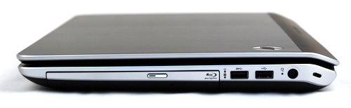 A Blu-ray drive completes the multimedia picture, especially when considering the dv6's full HD LED-backlit display.