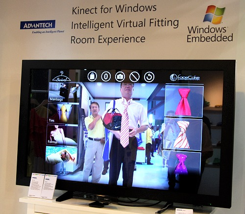Microsoft Demos Virtual Fitting Room Experience With