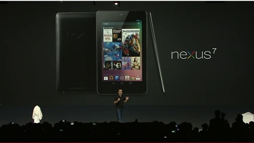 Introducing the Google Nexus 7 tablet ...