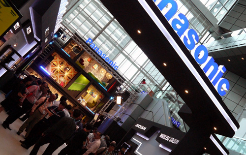 Panasonic was out in full swing at BroadcastAsia as well. There were lots of curious folks who stepped into the booth just to see what the Japanese firm had to offer.