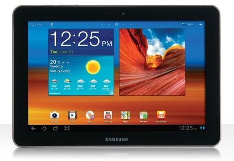 Has Samsung flooded the tablet market with infringing products, such as the Galaxy Tab 10.1?