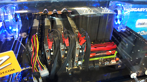 Innovative design and the use of quality components above everything else - this is the message that Gigabyte is trying to drive home at Computex 2012.