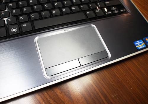 Unlike most Ultrabooks, the Inspiron 14z uses a standard trackpad rather than a clickpad.
