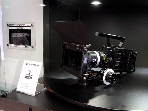 The conceptual 4K Varicam camera will most likely sport a 4K cinema-sized sensor when it's finally ready to be retailed in the flesh. It also records in AVC-Ultra 4:4:4 as well.