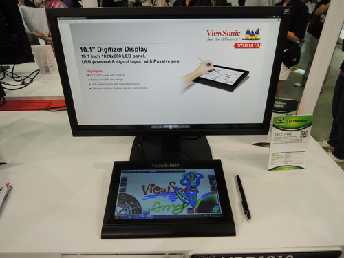 10.1-inch Digitizer, ideal for capturing signatures or graphic design.