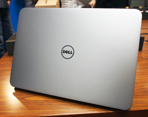 The XPS 14 looks like a larger version of Dell's XPS 13.