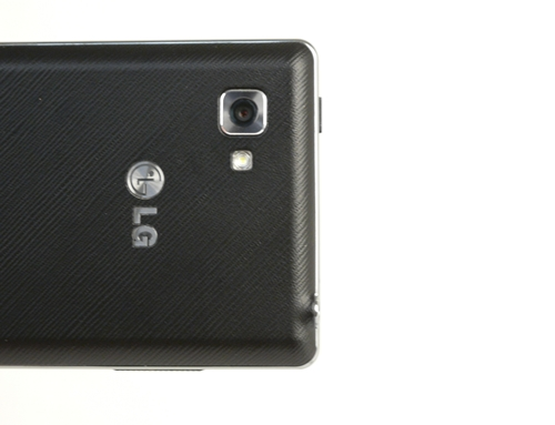 The LG Optimus 4X HD comes with an 8-megapixel camera with LED flash.