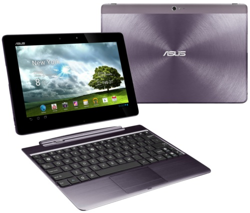 Transformer Pad Infinity in Amethyst Grey, with dock (Image source: ASUS)