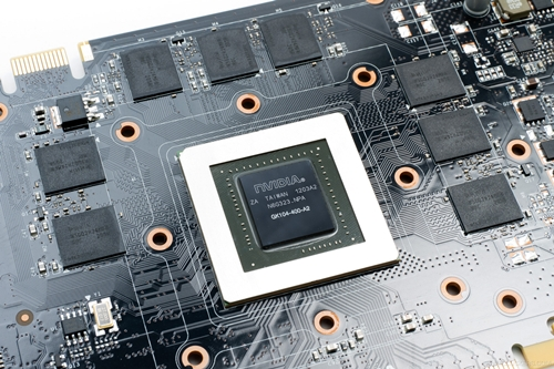 The GeForce GTX 660 Ti GPU whose picture was leaked by Sweclockers last month in July.