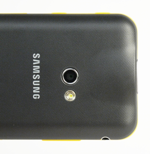 The new Samsung Galaxy Beam comes with a 5-megapixel, down from 8 on its predecessor. We suspect it's a cost cutting measure to get the phone to a more reasonable price point for the masses to toy with.