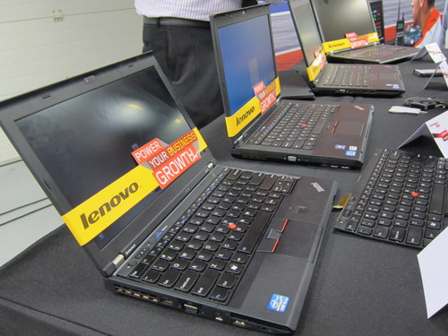 The bread and butter of Lenovo's business - ThinkPads. There haven't been any extreme makeovers here, but internal components like the fan and build materials have been enhanced.