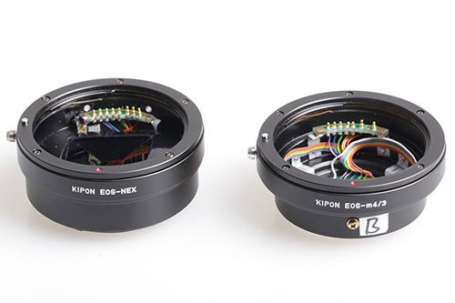 Kipon Electronic Adapters Let You Mount Canon EF Lenses on Sony NEX
