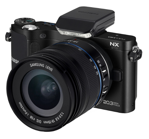 Samsung NX1000, NX20 and NX210 Offers Large Sensors and