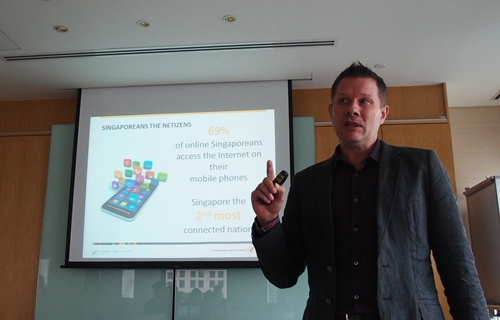 Almost three-quarters of the Singaporean population (69%) use their phones to access the Internet according to David Freer, Vice President of Consumer Business for Asia Pacific and Japan, Symantec.