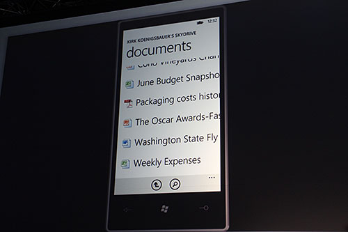 Documents on  your Windows Phone? Of course!