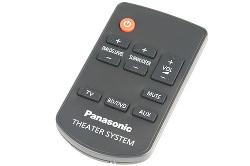 Don't lose the remote - else, you can't adjust the dialog effect and subwoofer levels.