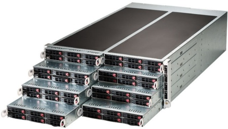 SYS-F617R2-R Series (8 DP Nodes) (Image source: Supermicro)