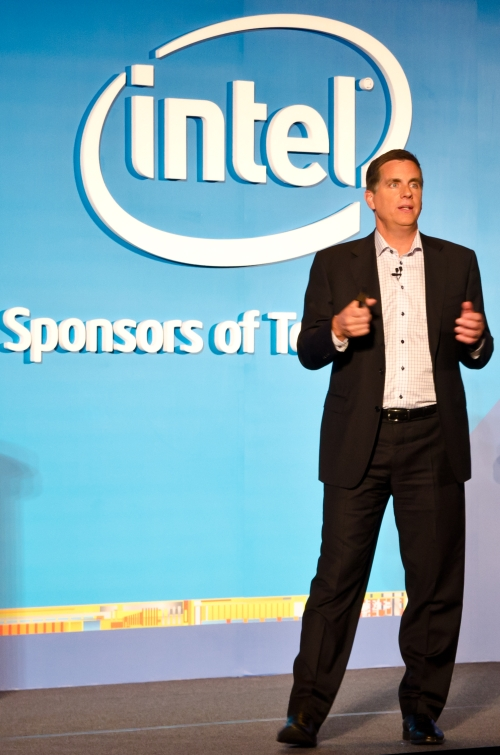 Tom Kilroy, Senior Vice President and General Manager of Sales and Marketing Group, Intel, was at COMPUTEX 2012 to deliver the opening keynote where he stressed that Intel is banking on touch-based technology to be the next big thing