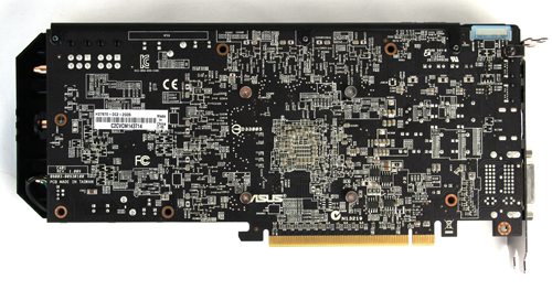 Like most ASUS cards, the HD 7870 uses a custom PCB and in some ways, helps it to better cope with its higher clocked nature (and in overclocking).