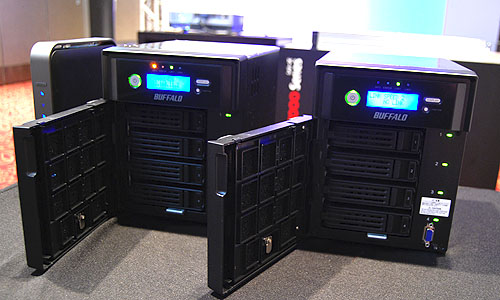 The new TeraStation 5000 series NAS devices were built with small and medium business owners in mind.