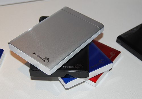 A closer look at the portable variants of the new Backup Plus hard drives reveals a smooth, brushed aluminum finish that we find very attractive.