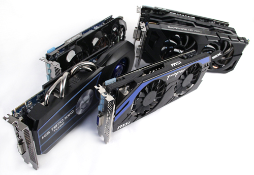 ASUS, Gigabyte, HIS, MSI or Sapphire - which custom Radeon HD 7870 card will emerge the winner?
