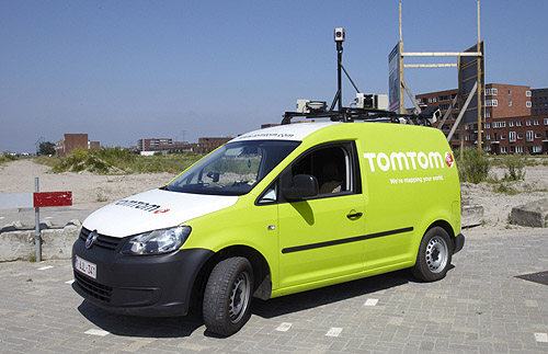 TomTom has 22 such vehicles in countries all around the world. Usually, they are only deployed when there's an extensive area that needs to be surveyed and if the weather permits (for example, summer is best since the sun doesn't set until 9pm in Netherlands and there's adequate light).