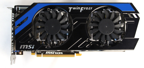 MSI uses aluminum construction on the Hawk model, including its backplate, making it the sturdiest (but heaviest) model in this shootout.