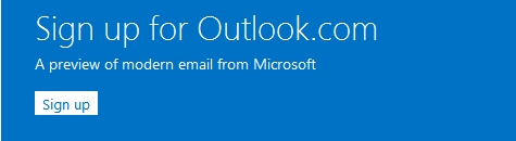 Don't have a Microsoft account? Sign up for a free one now!