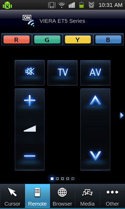 Volume and channel controls are quite redundant since they're already available on the physical remote. They might come in handy if your spouse confiscates your remote though.