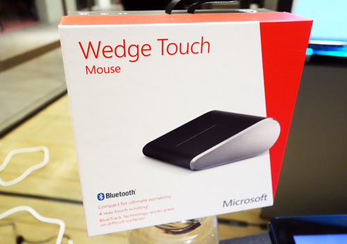 The Wedge Touch Mouse will be available at the end of August for $89.