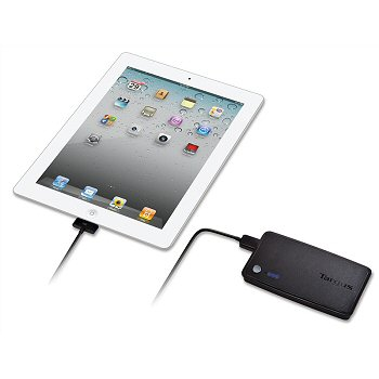 Charge your iPad even on-the-go with the Targus Backup Battery for iPad. (Image Source: Targus)