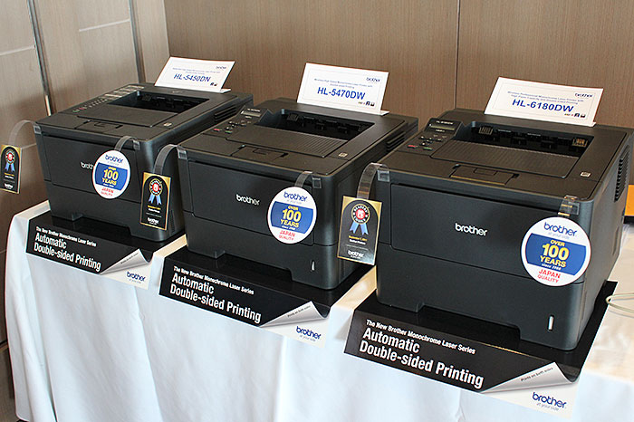 Brother Updates Laser Printer and Document Scanner Lineups