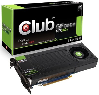 Club 3D GeForce GTX 660Ti