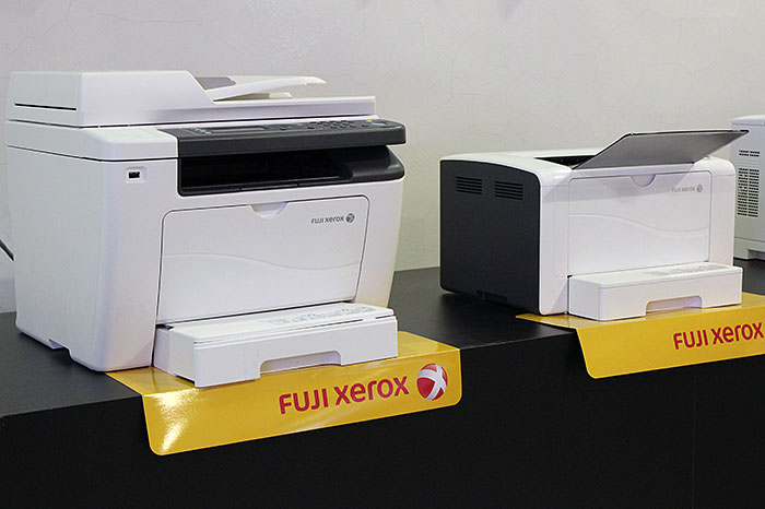 Both the P255 dw and M255 z print up to 30ppm. But for S$200 more, the M255 z is also a scanner, copier, and fax machine.