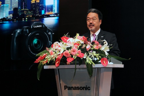 Izumi Tomozawa, Group Manager, AVC Networks Company, Imaging Business Group, Panasonic.