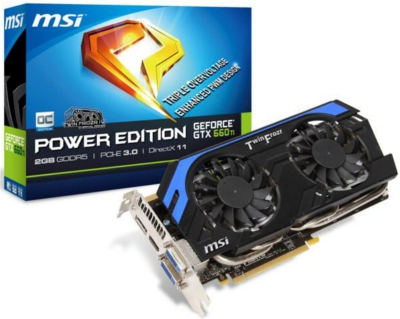 MSI N660Ti-Power Edition 2GD5/OC