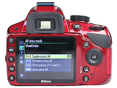 If you're familiar with DSLR cameras, you will find it a slight hassle to change AF area modes, as you need to access an additional sub-menu. Of course you'll have to consider the purpose of this camera which was catered for ease of usage. As such, toying with AF area mode settings isn't the most vital of functions for most entry-level users.