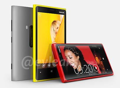 The Nokia Lumia 920.<br>Image source: evleaks