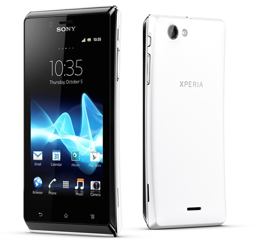 Sony Xperia J <br> Image source: Sony