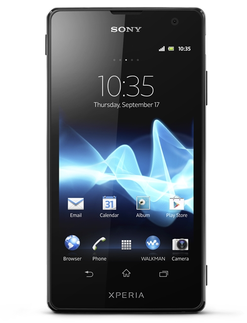 Sony Xperia TX <br> Image source: Sony