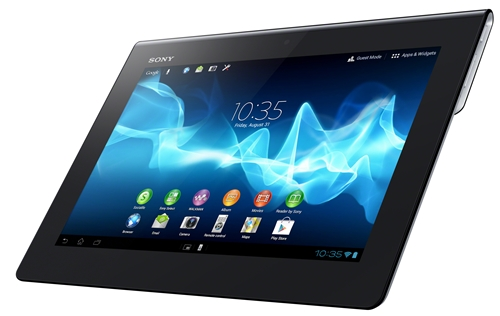 Sony Xperia Tablet S <br> Image source: Sony