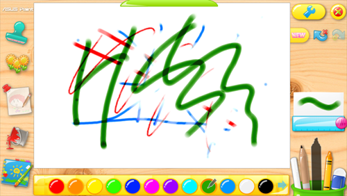 ASUS Paint looks like it could be fun for toddlers.