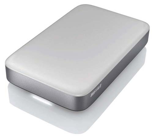Thunderbolt / USB Portable Hard Drive (Source: Buffalo)