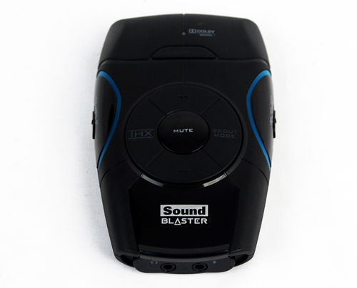 """Havinga small footprint, the Recon3D sound card comes in both PCIe and USB versions. The gaming headset came bundled with the latter edition. For those interested in the separate components, the USB sound card is sold as """"Sound Blaster Recon3D"""", while the headset is sold as the """"Sound Blaster Tactic3D Omega Wireless""""."""