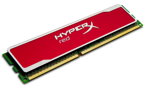 Kingston HyperX red (Source: Kingston)