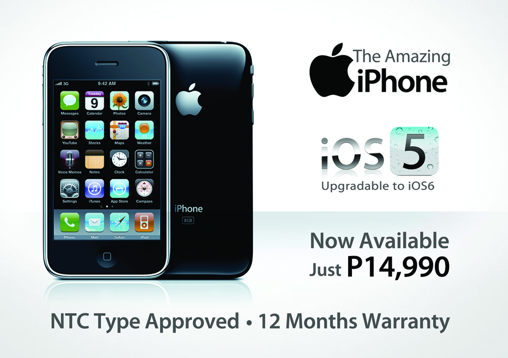 iphone 6s price philippines list of shops that carry iphone 3gs for only php 14 990 3818