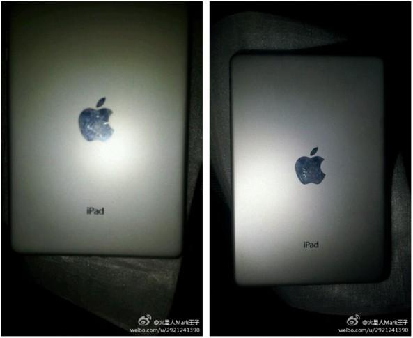Back appearance of the rumored 7-inch iPad Mini.