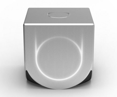 Ouya's gaming console is expected to be around the size of a Rubik's cube.