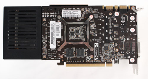 The Palit GeForce GTX 660 Ti model uses a reference PCB.